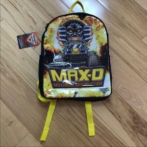 Max D monster truck backpack